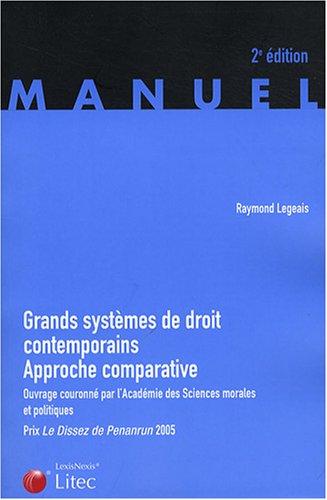 Grands systèmes de droit contemporain