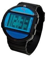 PUMA Men's PU910891001 Half-Time Large Digital Black Blue Watch by PUMA