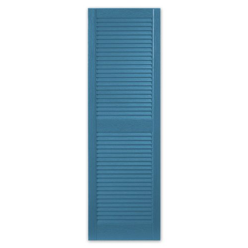 window shutters alcoa mastic clv1553 41 15 x 53 blue
