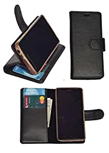 R&A Pu Leather Wallet Flip Case Cover With Card & ID Slots & Magnetic Closure For Coolpad Note 3 Lite