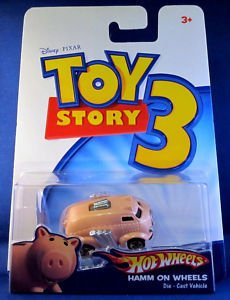 Toy Story 3 Hot Wheels Hamm On Wheels Car @ NiftyWareHouse