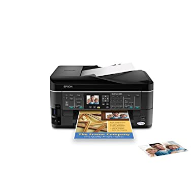 Epson WorkForce 630 Wireless Inkjet All-in-One Printer - Black