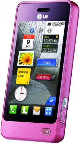 LG GD510 POP Smartphone (Edge, MP3, 3 MP Kamera, Bluetooth)  pink