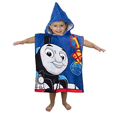 Thomas And Friends Race Hooded PONCHO towel