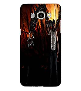 SAMSUNG GALAXY J5 2016 DEVIL Back Cover by PRINTSWAG