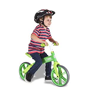 Yvolution Y Velo Single Wheel Balance Bike - Green