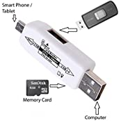 Sony Xperia Go Compatible OTG SMART CONNECTION KIT / OTG SMART / On The Go Cable / Micro USB OTG Cable / OTG /...
