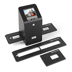 SainSonic FS-06 Scanner de Photo Diapositive Scanner Négatif 35mm 14MP 3300DPI avec 2.4 LCD Ecran et Résolution de 5040 x 3360 pixels USB * Noir *