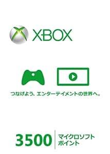 Xbox Live 3500 マイクロソフト ポイント カード【プリペイドカード】(NEW)【メーカー生産終了】