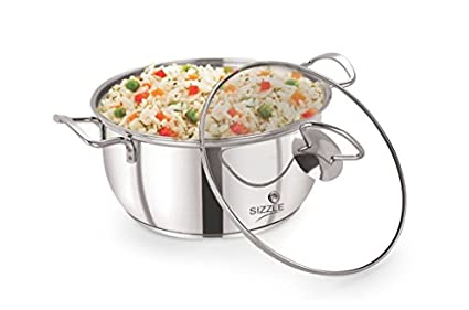 Sizzle-VR6340-Conical-Induction-Kadhai-With-Glass-Lid-(3-L)
