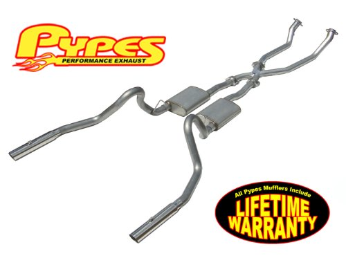 1998-2004 Mustang V6 Pypes Dual Pipe Exhaust