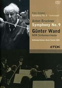 Gunter Wand: Schubert - Symphony No. 8 Unfinished / Bruckner - Symphony No. 9 (2006) [Import]