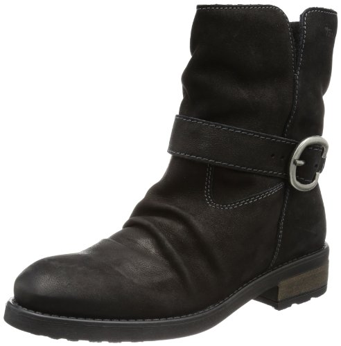 Tamaris Women's TAMARIS Desert Boots Black Schwarz (BLACK 001) Size: 6 (39 EU)