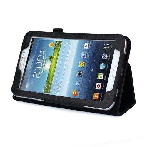 Discover Bargain Zhipingshopp Hot Sale Folio Leather Case Cover Stand for Samsung Galaxy Tab 3 7.0 ...