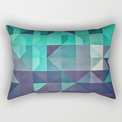 Slimmingpiggy Geometry Throw Pillow Case ,best For Bf,outdoor,home Office,kids Girls,gril Friend 20 X 26 Inches / 50 By 65 Cm(2 Sides) (Bradford Truck Bed compare prices)