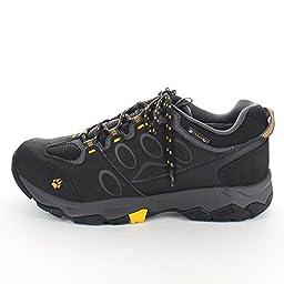 Jack Wolfskin mens Jack Wolfskin Mens All Terrain 7 Suede Waterproof Walking Boots Grey Phantom Suede UK Size 13 (EU 48, US 14)