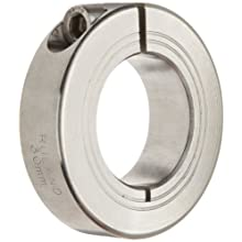 Ruland MCL One-Piece Clamping Shaft Collar, Metric