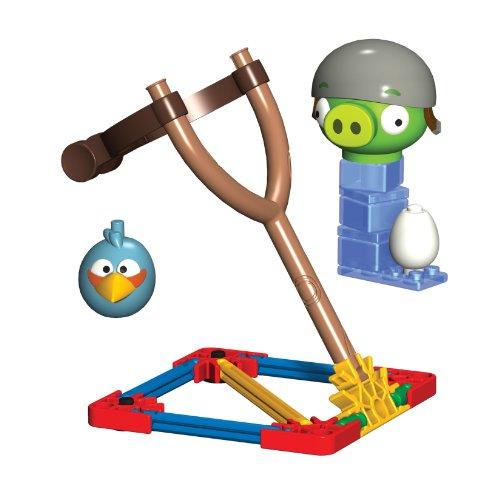 Angry Birds Blue Bird vs Helmet Pig Gioco di costruzione