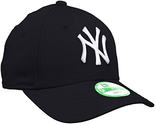 New Era - Kids MLB Basic NY Yankees 9Forty Adjustable, Berretto infantile, blu (navy), unica