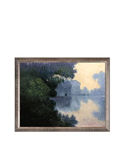 Claude Monet Morning On The Seine Near Giverny Hand-Painted Oil Reproduction