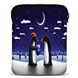 RayShop - Penguin Lovers Neoprene Tablet Sleeve Case for 10