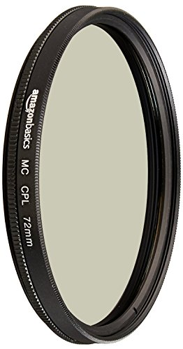 AmazonBasics Filtre polarisant circulaire - 72mm