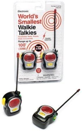 World's Smallest Walkie Talkies - 1
