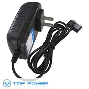 T-Power Ac Dc adapter for Asus Eee Pad Transformer Tf101 A1 B1 ; Transformer Prime Tf201 & Tf300t Tf300tl ; Eee Pad Slider Sl101 A1 B1 ; P/n 04g26e000101 15v Tablet Touchscreen Tab Netbook Replacement super thin Tablet charger power supply cord wall plug spare