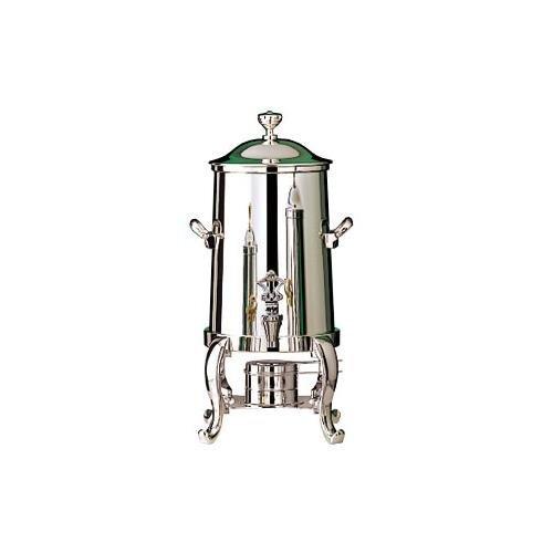 Bon Chef 49103C 3.5-Gallon Coffee Urn Server, Solid Fuel, Chrome, Roman, Each