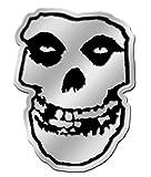 C&D Visionary Misfits Skull 8cm Silver Metal Sticker by C&D Visionary Inc.