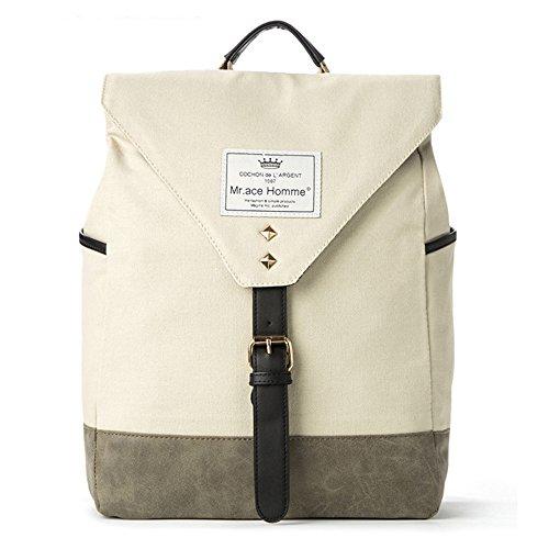 D.jiani® Gli studenti delle scuole di moda all'ingrosso borsa coreana posto borsa di tela casuale universitario del vento spalla