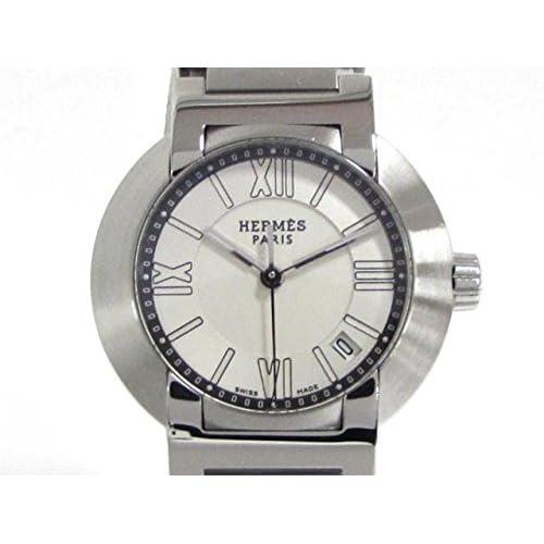 [エルメス] HERMES ノマード ウォッチ 腕時計 ステンレススチール(SS) NO1.210 [中古]
