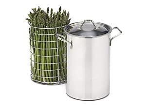 Stainless Steel Asparagus/Vegetables Steamer