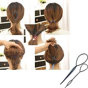 Topsy Tail Hair Styling Tool ï¼?Hair braiding tool,Hair Styling Accessory ï¼?Ponytail Styling Tool ï¼?Hair Styling Toolï¼?Hair Accessoriesï¼?Hair Styling Set Kitï¼?Pony Tail Hair Accessoriesï¼?ï¼?19 Pack/10pack)â?¦