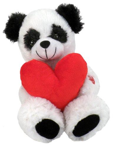 "Chantilly Lane Roly Poly Panda Sings ""Can't Get Enough of You Baby"" 10"" Plush - 1"