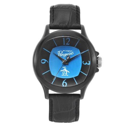 original-penguin-op1032bk-reloj-de-cuarzo-para-hombre-con-correa-de-cuero-color-negro