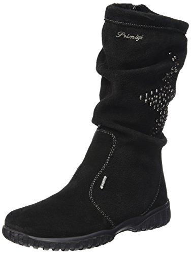 PrimigiAVRIL-E - Stivali a metà gamba con imbottitura pesante  Bambina , Nero (Nero (Nero)), 31 EU