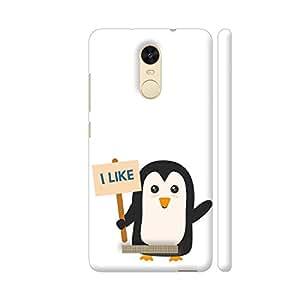 Colorpur Penguin Like Artwork On Xiaomi Redmi Note 3 Cover (Designer Mobile Back Case) | Artist: Torben