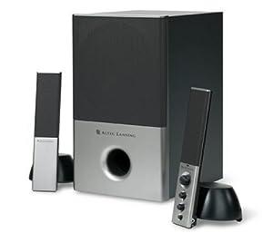 Altec Lansing Vs4121 2 1 Computer Speaker System 3 Piece