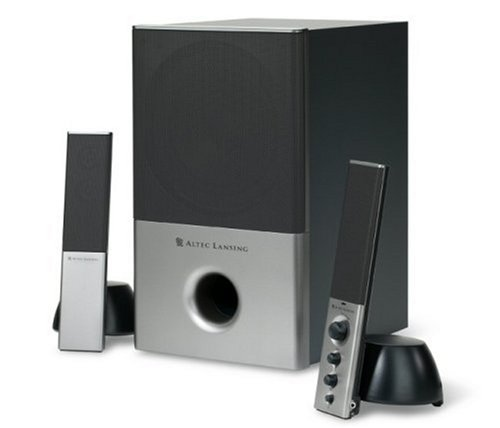Altec Lansing VS4121 2 1 Computer Speaker System 3 pieceB0000C2GT0