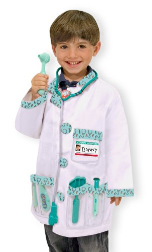Melissa & Doug Doctor Role Play Costume Set - 1