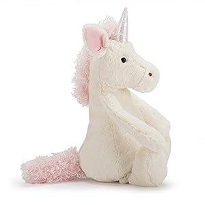 Jellycat Bashful Unicorn Stuffed Animal, Really Really Big, 50 inches (Tamaño: Really Really Big - 50)