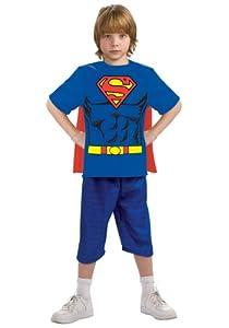 Justice League Child's Superman 100% Cotton T-Shirt