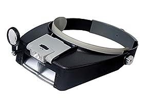 SE MH1047L Illuminated Multipower LED Binohead Magnifier