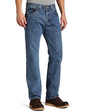 Levi's Men's 501 Big & Tall Jean, Medium Stonewash, 32x38