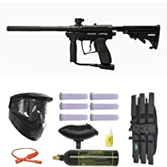 Buy Spyder MR100 Pro Paintball Gun Marker Mega Set by Spyder