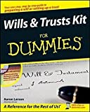 img - for Aaron Larson: Wills & Trusts Kit for Dummies [With CDROM] (Paperback); 2008 Edition book / textbook / text book