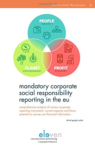 corporate social responsibilitiy social reporting Corporate social responsibility (csr) is commonly described by its promoters as aligning a company's activities with the social, economic and environmental expectations of.
