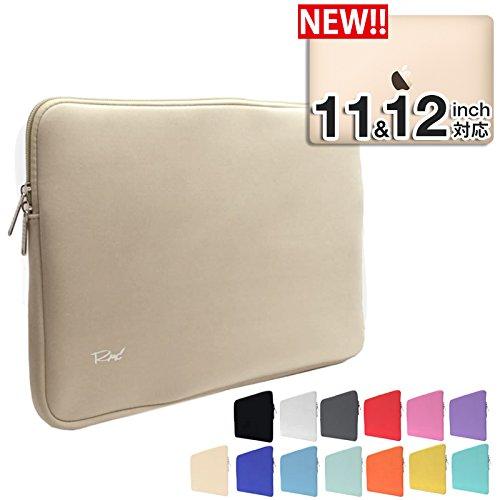 [MS factory/RMC series] MacBook 12インチ /11.6インチ 用 ネオプレーン インナーケース MacBook 12インチ /Air 11.6インチ 対応 プロテクト 撥水 スリーブ ケース 《RMC オリジナル カラー》 ゴールド RMC-NEOIPC11GD