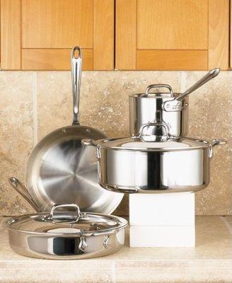 Buy All-Clad Stainless 7-Piece Cookware Set